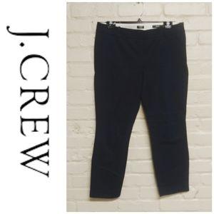 J. Crew | 'Mini' Stretch Ankle Pants Navy
